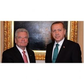 ALMANYA CUMHURBAŞKANI Joachim Gauck'tan Taziye Mesajı
