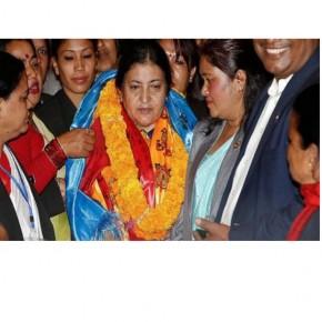 21. Yüzyıl Dünya Kadın Portreleri : Bidhya Devi Bandhari: Nepal'in ilk kadın devlet başkanı
