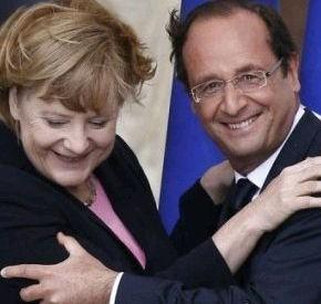 ALMANYA-FRANSA : François Hollande ? Angela Merkel Buluşması