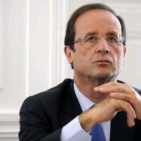 François Hollande'ın ilk mağlubiyeti