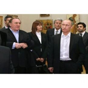 Fransız aktör Gerard Depardieu artık Rus vatandaşı