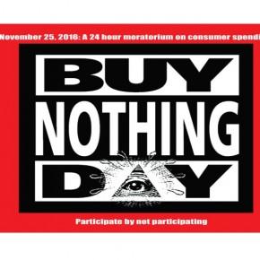BND: Buy Nothing Day, BUGÜN HİÇBİR ŞEY SATIN ALMA !